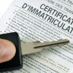 Changement immatriculation